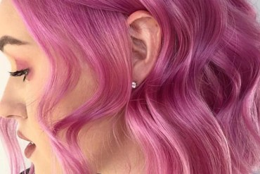 Soft Purple Hair Colors And Highlights for 2019