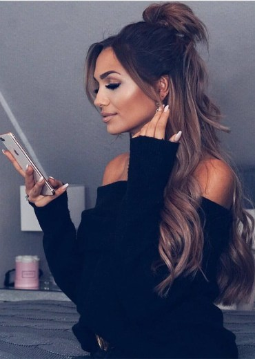 Stunning Half up Half Down hairstyles for Long Hair in 2019