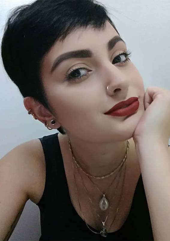 Very Short Pixie Haircuts for Girls in 2019