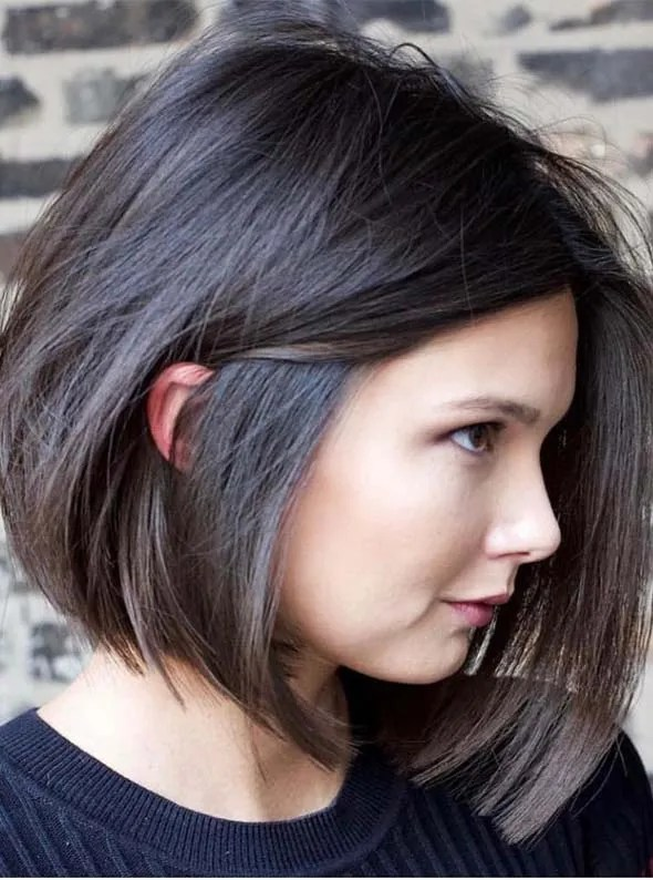 Incredible Blunt Bob Haircut Styles For Ladies In 2019