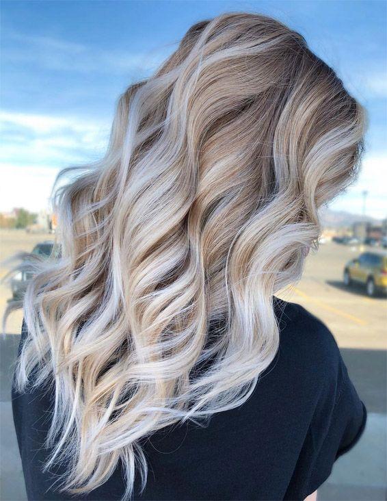 Marvelous Hair Color Styles For Blonde Girls In 2019 Stylezco