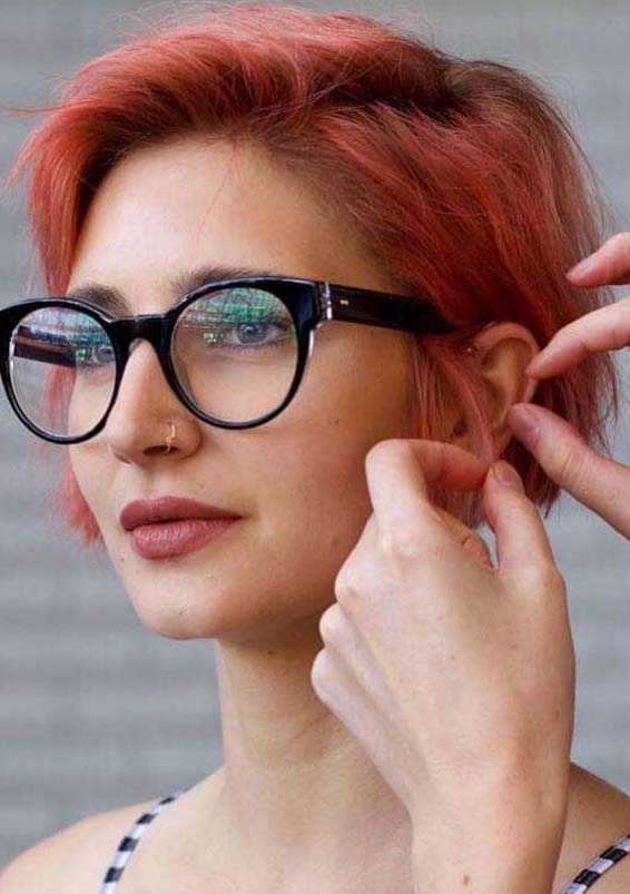 Short Red Haircut Ideas for Women 2019
