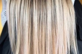 Sleek Straight Balayage Hairstyles in 2019