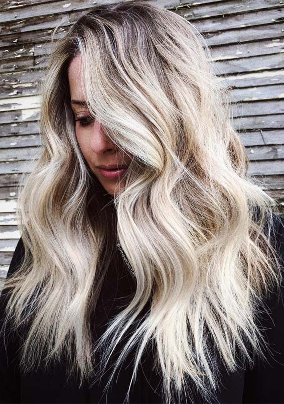 Fantastic Textured Blonde Long Hairstyles Trends For 2019