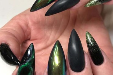 Awesome Green Nail Designs & Arts for 2019