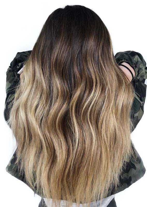 Balayage Ombre Hair Color Ideas for 2019