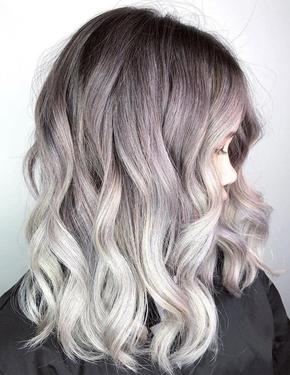Gorgeous Hair Color Highlights for Medium to Long Hair