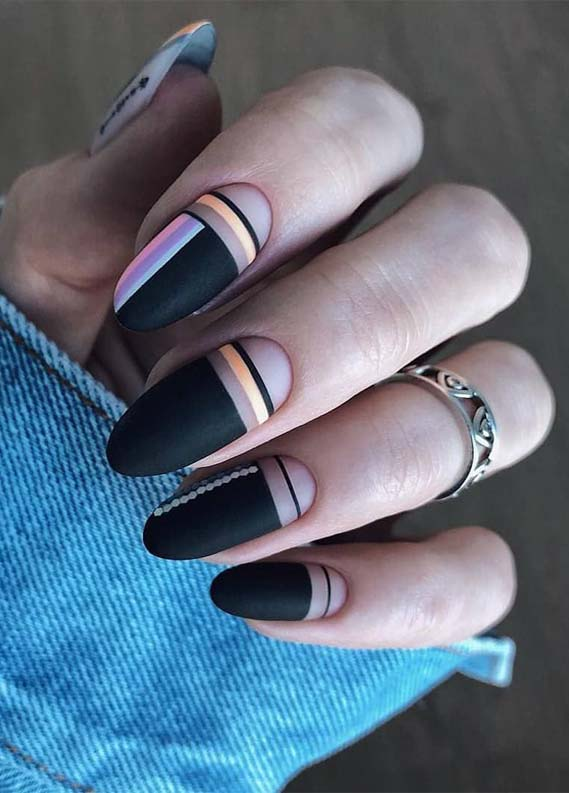 Hottest Black Nail Art Designs in 2019