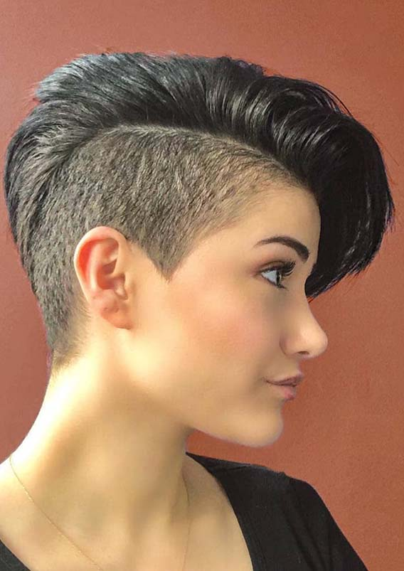 Short Pixie Haircut Styles for Round Faces in 2019