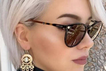 Short haircuts with glasses in 2019