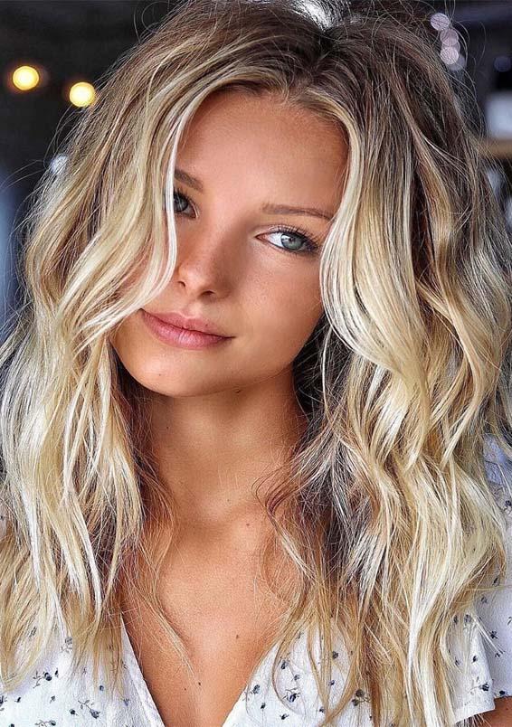 Fresh Summer Blonde Hair Color Highlights For Women 2019