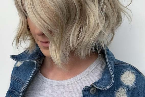 Blonde Balayage Short Bob Haircuts in 2019