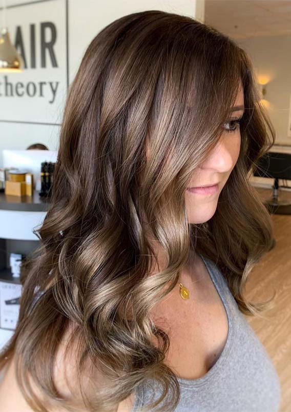 Brunette Balayage Hair Color Shades in 2019