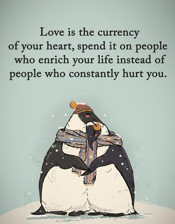 Love is the Currency of your Heart - Best Love Quotes