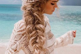 So Pretty Mermaid Crown Braid Styles for Long Hair in 2019