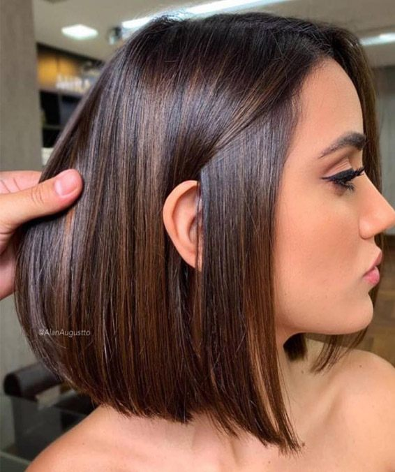 The Best Rich Brown Hair Color Ideas for Brunette Girls ...