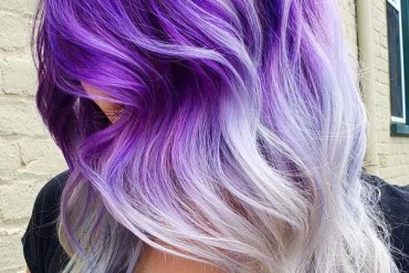 Awesome Purple Hair Colors Highlights for 2019