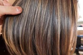 Elegant Brown Hair Shades & Highlights for Short Hair