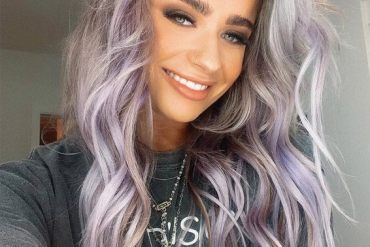 Gorgeous Lavender Long Hairstyles for 2019