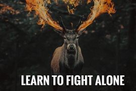 Learn to Fight Alone - Greatest Fight Quotes
