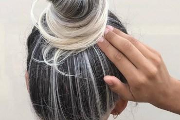 Gorgeous Top Bun Hair Ideas for 2019 Girls