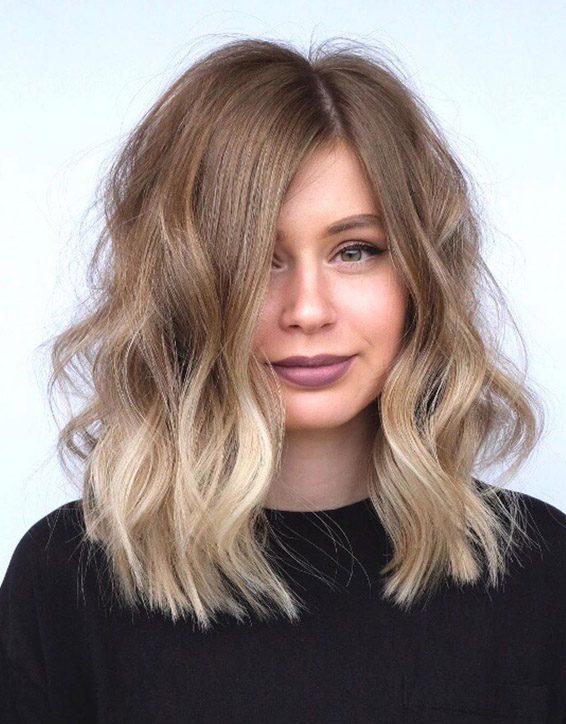 Marvelous Lob Haircut Trends For Shoulder Length Hair