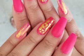 Marvelous Pink Nail Arts & Designs for Stylish Women 2019