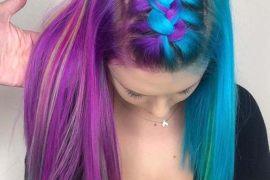 Delightful Pulp Riot Hair Color Highlights for Medium Hair