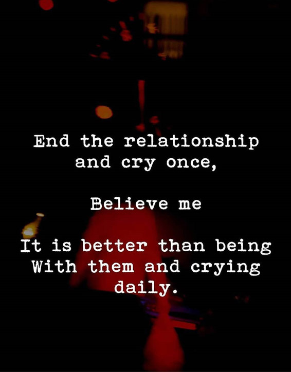 End the Relationship - Best Relationship Advice for Everyone