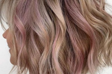 Fresh Combo Of Blonde & Pink Hair Colors for Bob Cuts in 2019