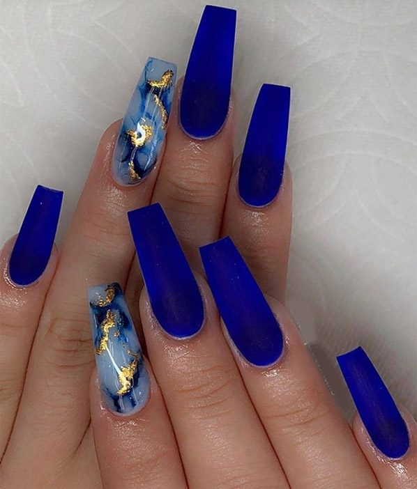 Cutest Ideas of Blue Nail Art for 2019