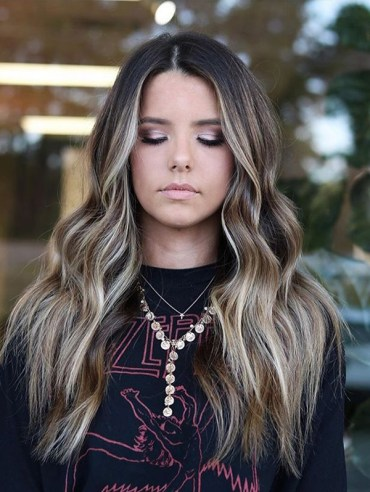 Face Framing Long Hairstyles and Colors for 2019