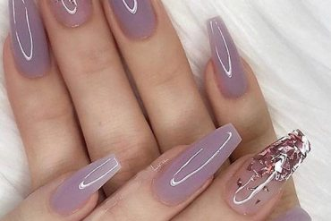 Rose Pink Nail Design Ideas for 2019