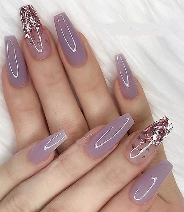 Rose Pink Nail Design Ideas for 2019 Ladies