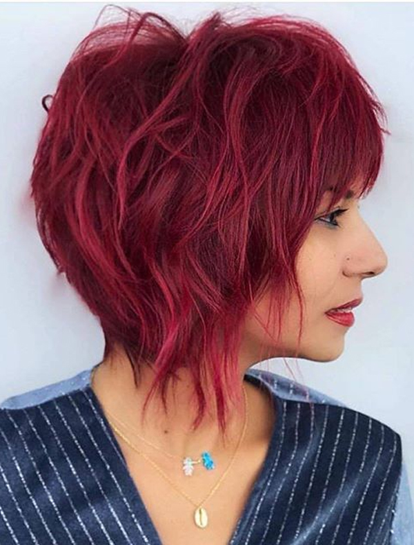 Short Red Haircuts and Hairstyles for Women in 2020