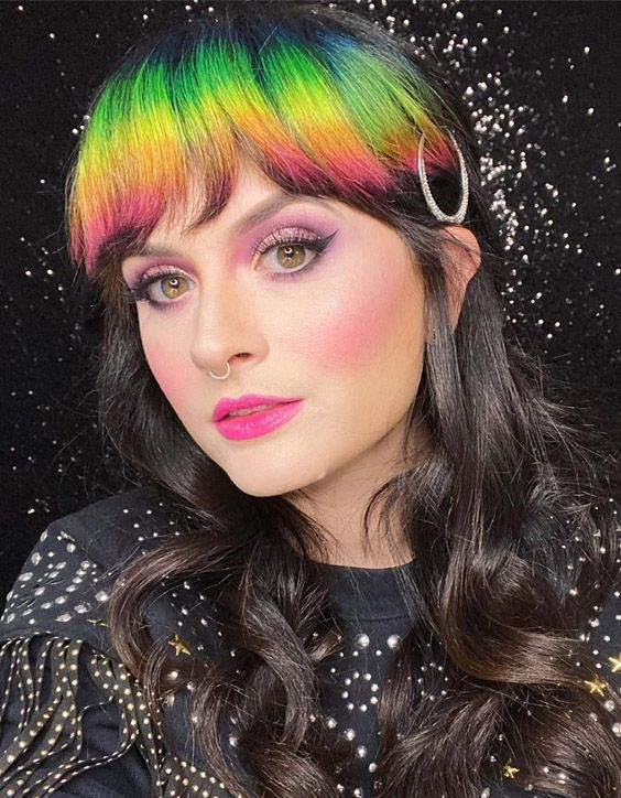 Awesome Colorful Hair Highlights for 2020