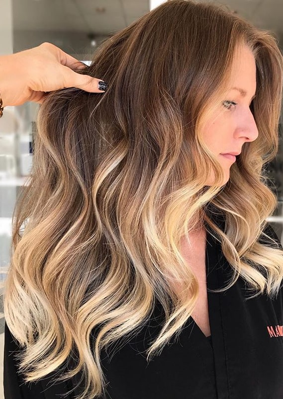 Cutest Beachy Textured Balayage Hair Styles Trends in 2020