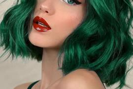 Brightest Green Hair Colors to Show Off in Year 2020