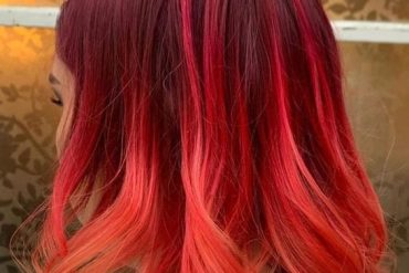 Brilliant Style of Red Hair Color for Medium Length Hair