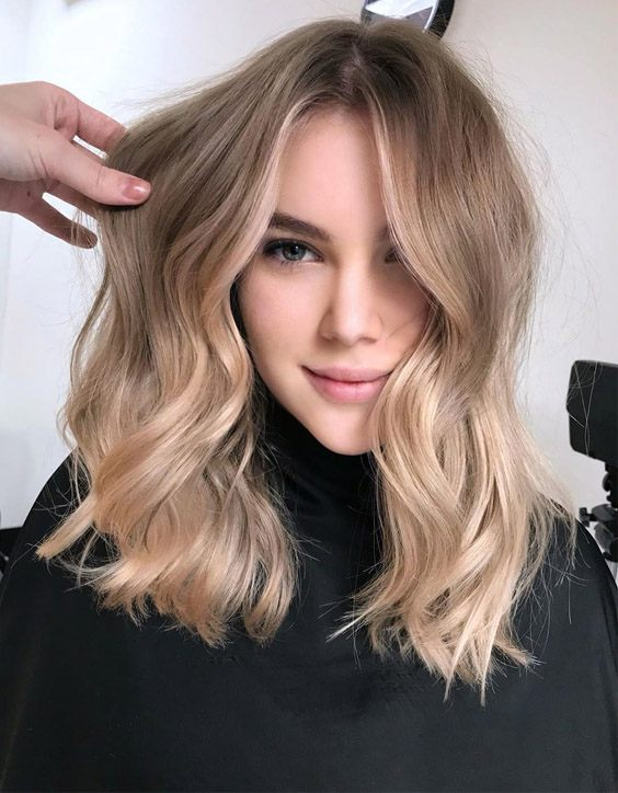 Gorgeous Balayage Hairstyles for Shoulder Length Hair
