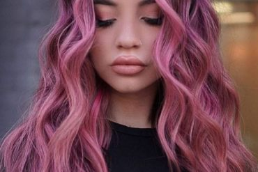 Fantastic Look of Pink Balayage Hairstyle for 2020