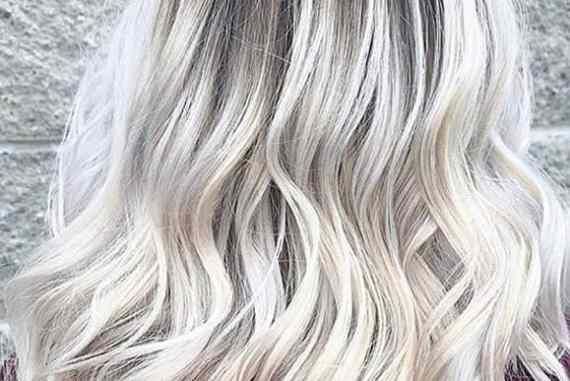 Fresh Blonde Hair Colors with Dark Roots in Year 2020