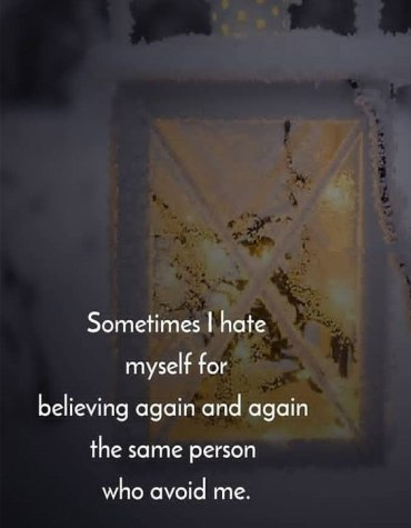 The Same Person Avoid Me - Best Believe Quotes & Sayings