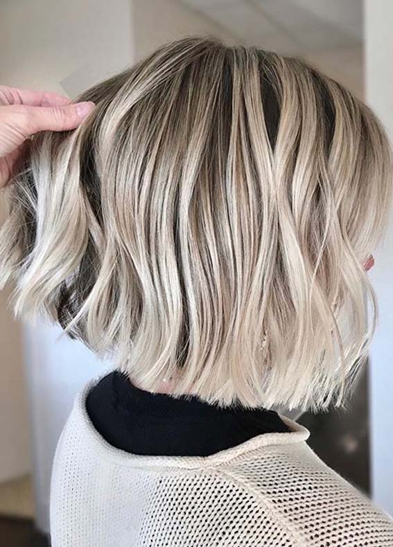 Stunning Short Bob Haircuts And Hairstyles Trends In Year