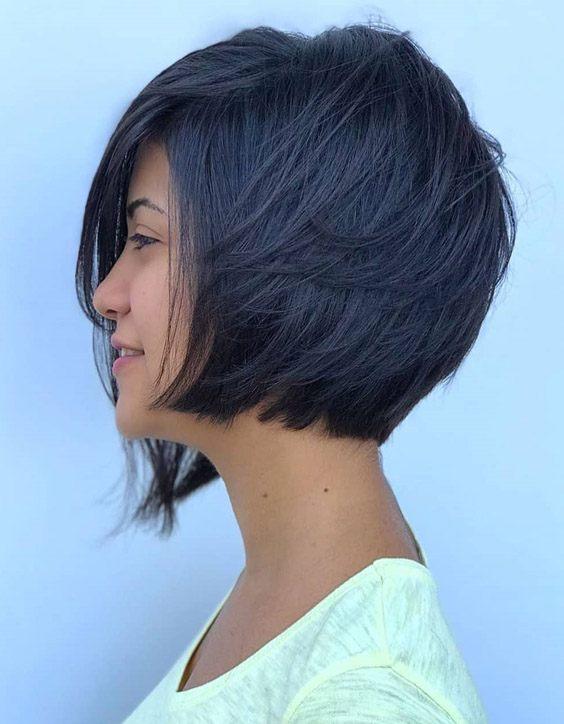 Brilliant Style of Short Bob Haircuts In 2020