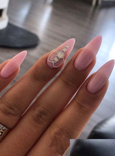 Fresh Pink Nail Arts for Women to Show Off in Year 2020