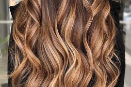 Caramel Balayage Hair Color Highlights You Must Wear in 2020