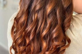 Hot copper Balayage hair color trends for Women 2020