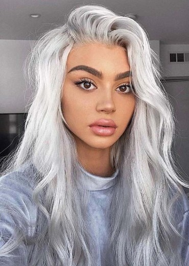 Platinum Silver Hair Color Ideas to Show Off in Year 2020