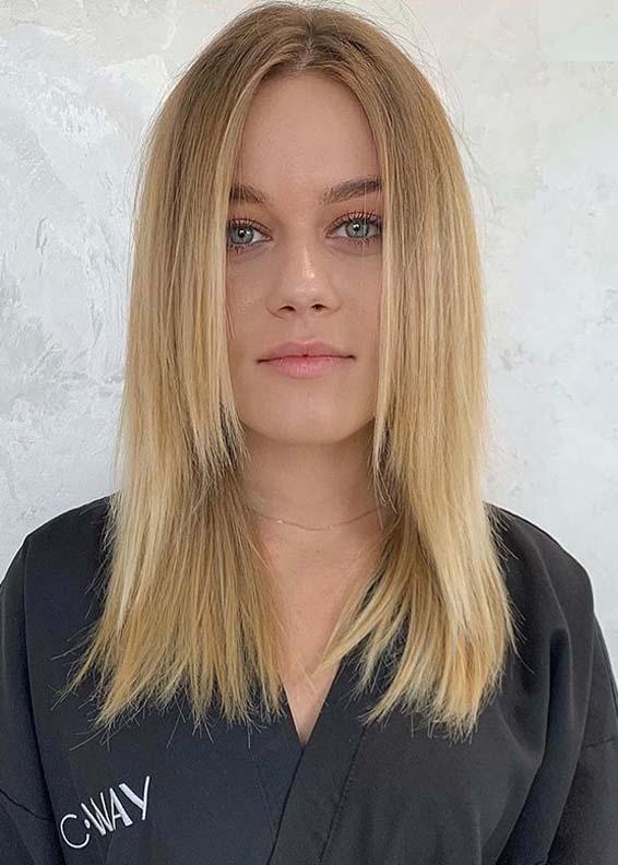 Adorable Sleek Blonde Hairstyles to Sport in Year 2020